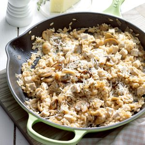 Turkey Thyme Risotto