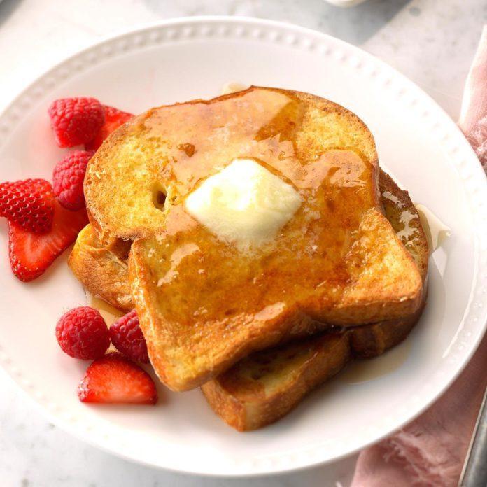 Vanilla French Toast