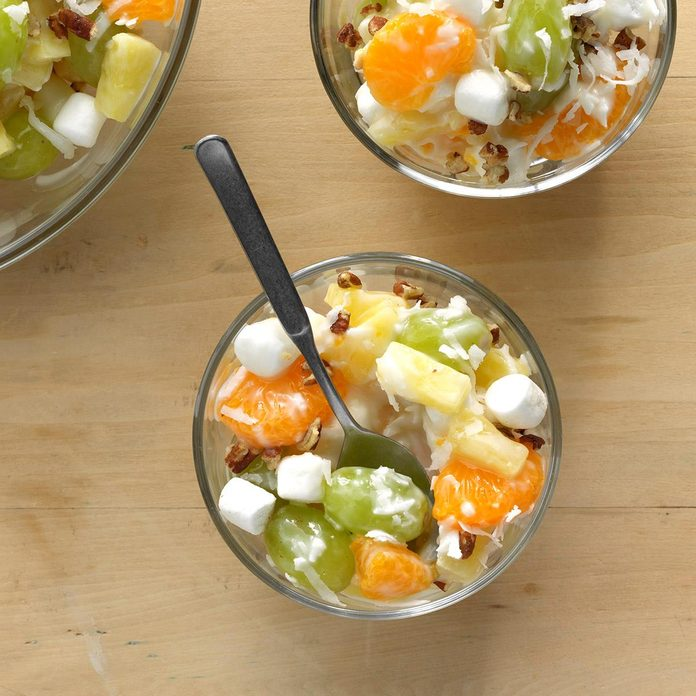 Vanilla Yogurt Ambrosia