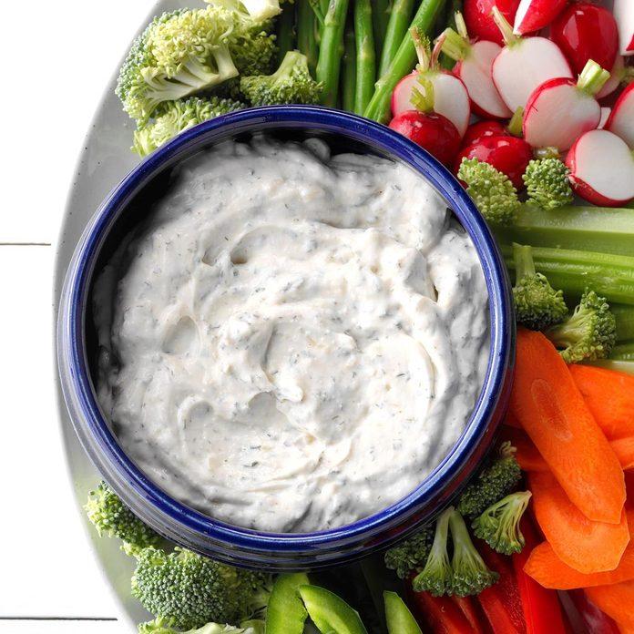 Veggie Dill Dip