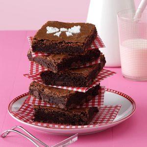 Very Chocolate Chip Brownies