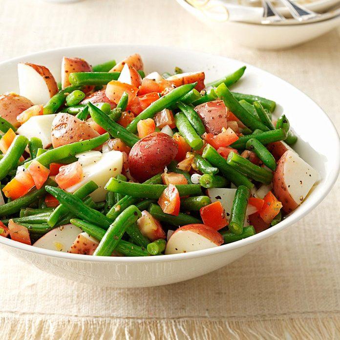 Warm Green Bean & Potato Salad