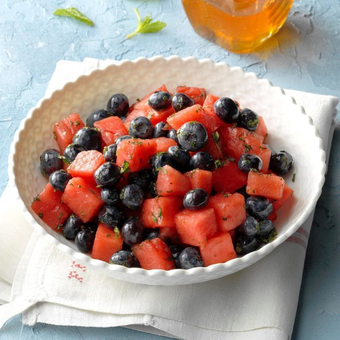 Watermelon-Blueberry Salad