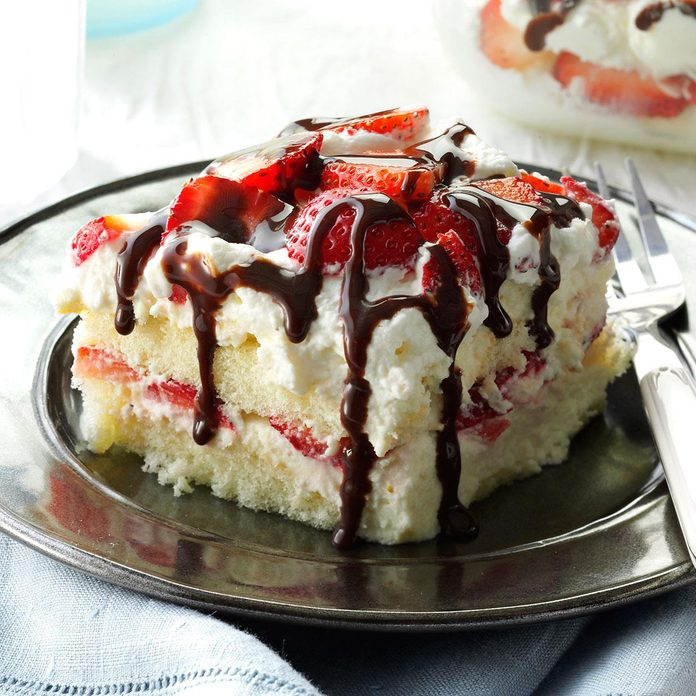 White Chocolate-Strawberry Tiramisu