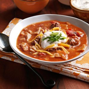 Zesty Tortilla Soup