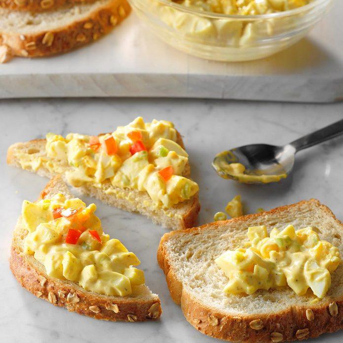 Monday: Zippy Egg Salad