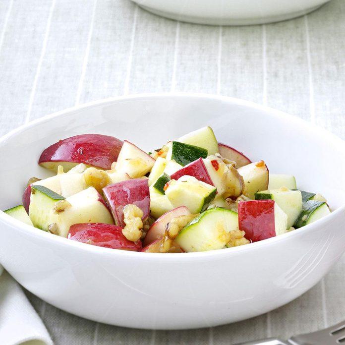 Zucchini Apple Salad