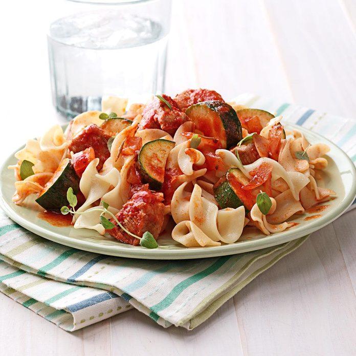Zucchini Pork Dinner