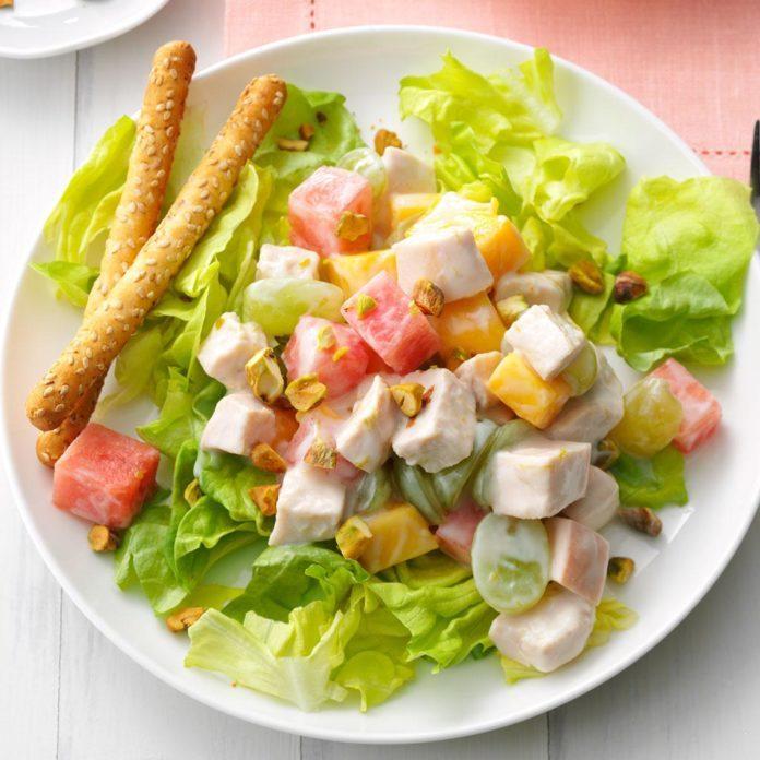 Summer Splash Chicken Salad
