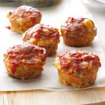 Muffin-Pan Meat Loaves