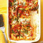 Spinach-Basil Lasagna