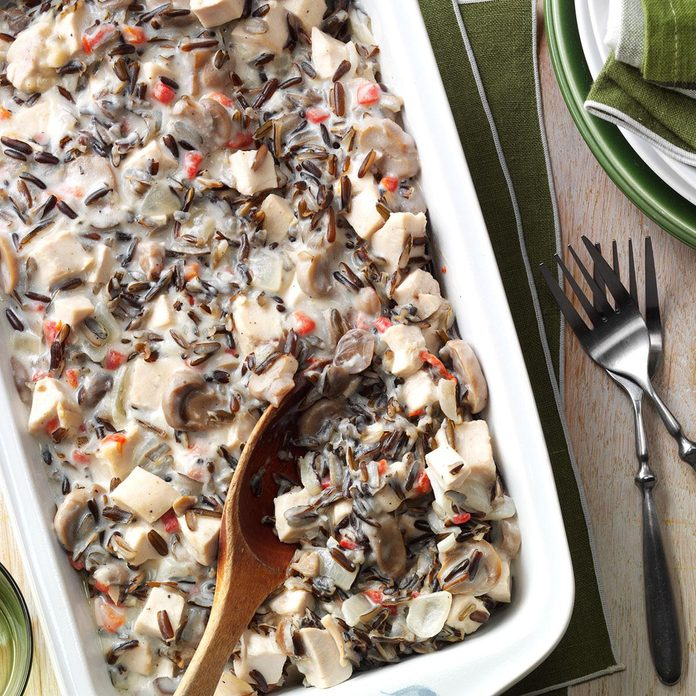 October: Contest-Winning Chicken Wild Rice Casserole