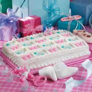 Booties 'n' Rattles Cake