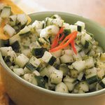 Lime Cucumber Salsa