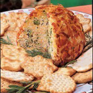 Bacon-Broccoli Cheese Ball