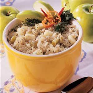 Sauerkraut Apple Salad