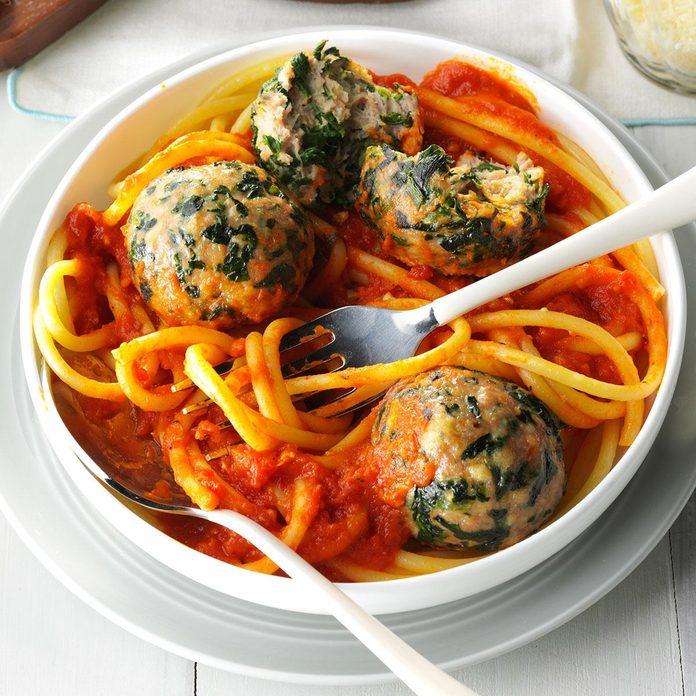Spinach Turkey Meatballs