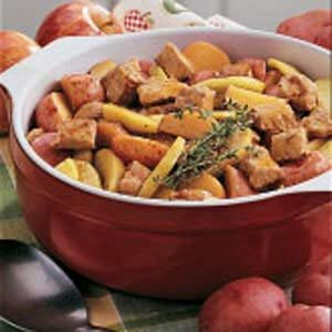 Pork and Apple Supper