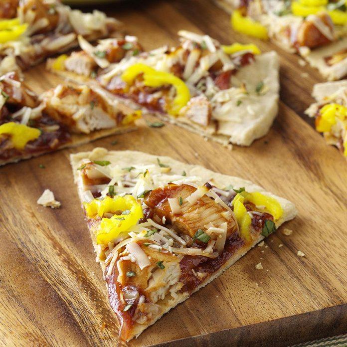 Inspired By: Backyard BBQ Chicken Pizza