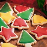 Glazed Butter Cookies