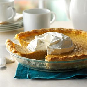 Spiced Butternut Squash Pie