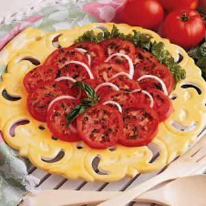 Tangy Tomato Slices