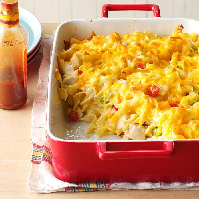 November: Chicken Noodle Casserole