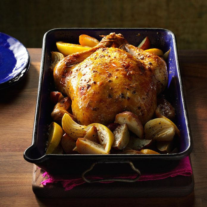 Inspired by: Roast Chicken with Lemon