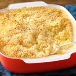 Baked Three-Cheese Macaroni