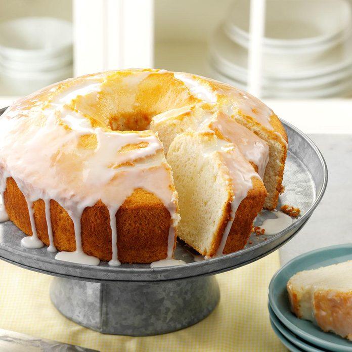 Moist Lemon Chiffon Cake