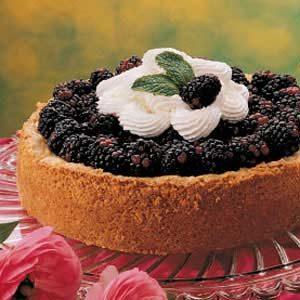 Blackberry Custard Torte