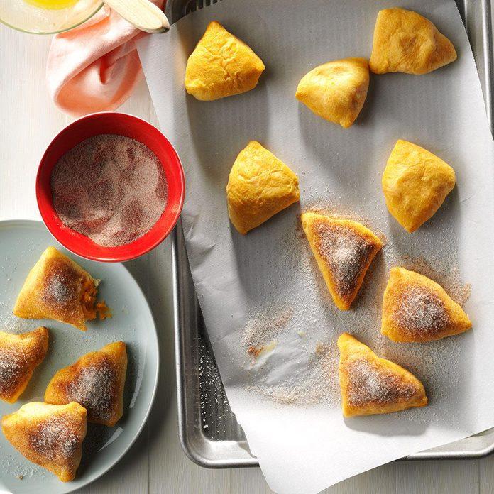 Cinnamon-Sugar Sweet Potato Pastries