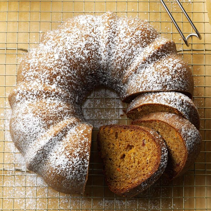 Carrot-Cranberry Spice Cake