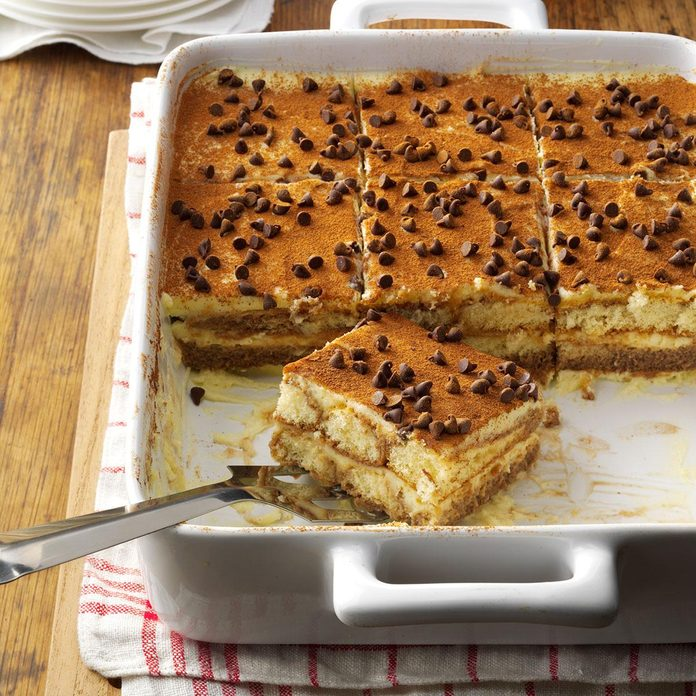 Hot Chocolate Tiramisu