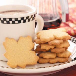 Maple Sugar Cookies