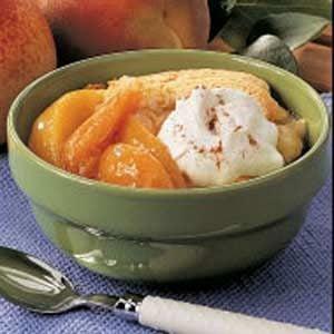 Apricot Peach Cobbler