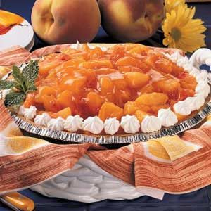 Orange Peach Pie