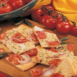 Tomato Rosemary Focaccia