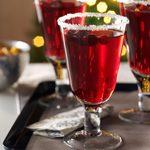 Cranberry Pomegranate Margaritas