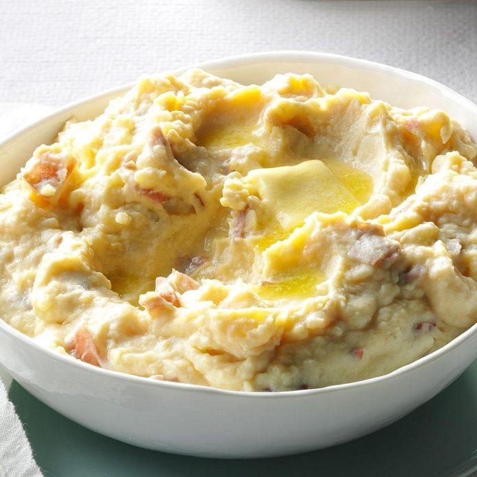 Rich & Creamy Parmesan Mashed Potatoes