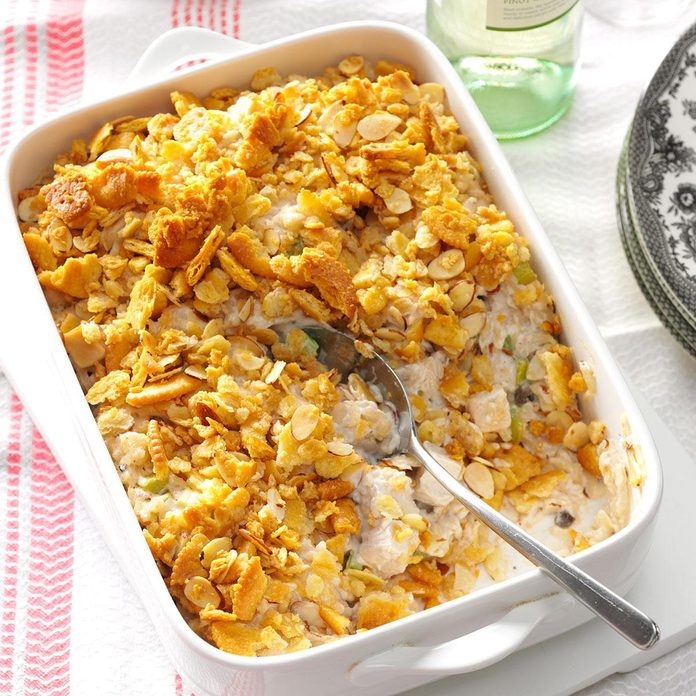 January: Crunchy Almond Turkey Casserole