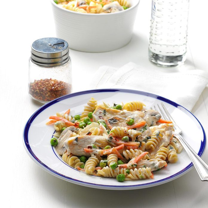 Lemon-Basil Chicken Rotini