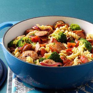 Pasta & Broccoli Sausage Simmer