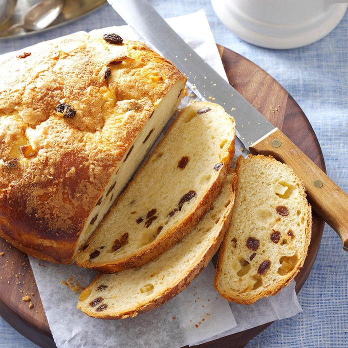 Apple Raisin Bread
