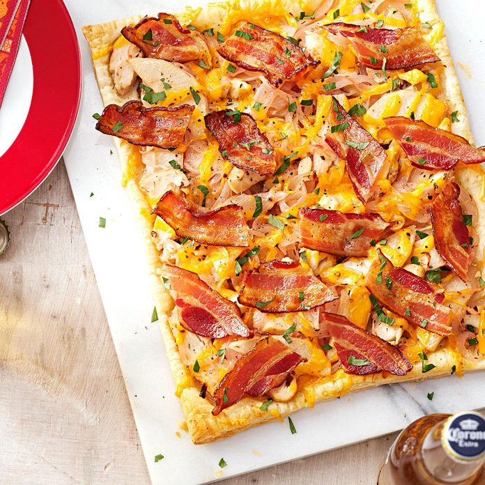 Chicken & Bacon Tart
