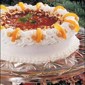 Apricot Hazelnut Torte