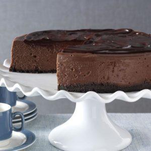 3D Chocolate Cheesecake