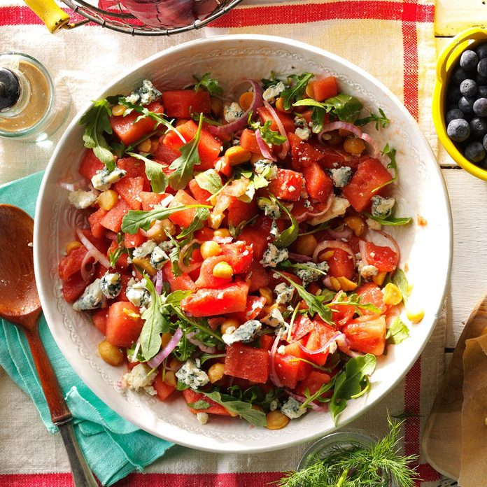 Juicy Watermelon Salad