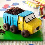 Dump Truck Cake