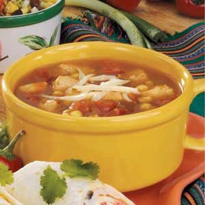 Salsa Chicken Soup